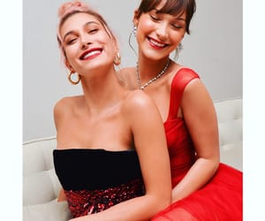 model, hailey baldwin, and bella hadid image
