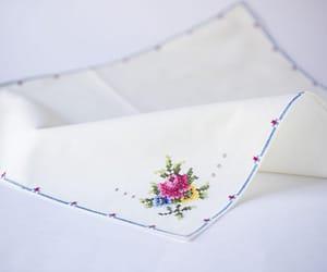 etsy, dinner napkin set, and matching napkin image