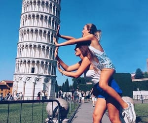 friends, travel, and italy image