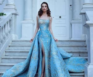 fashion, blue, and pretty image
