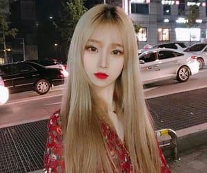 asian, girl, and night image