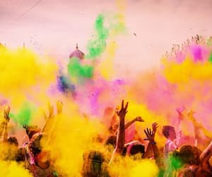 festival of colors, india, and indian image