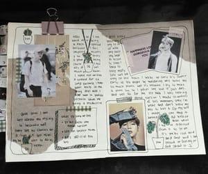 journal and kpop image