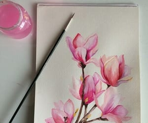 aesthetic, inspiration, and watercolor image