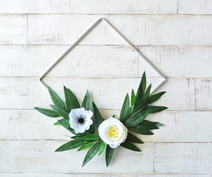 dried flowers, scandi wreath, and etsy image