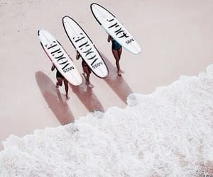 beach, theme, and vogue image