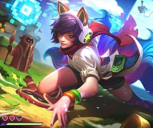 arcade, lol, and ahri image