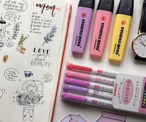 colors, inspiration, and journaling image