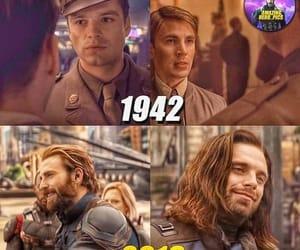 Avengers, steve rogers, and bucky image