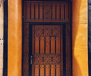 doors, orange, and wanderlust image