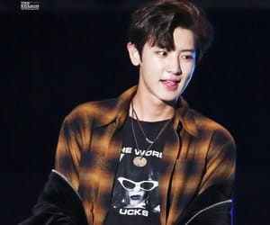 exo, L, and park chanyeol image