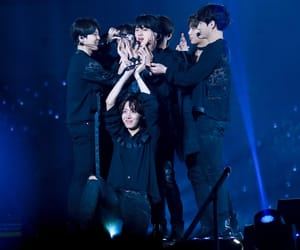 family, jin, and bts image