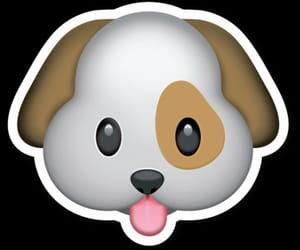 dog, emoji, and png image