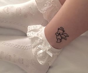 tattoo, aesthetic, and white image
