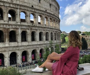 colosseum, dress, and europe image