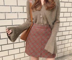 fashion, korean fashion, and skirt image