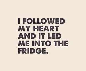 fridge, food, and funny image