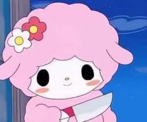 pink, sanrio, and anime image