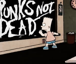 punk, rock, and punks not dead image