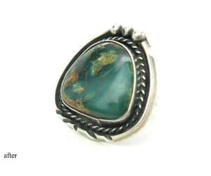 1960s, gemstone ring, and native american image
