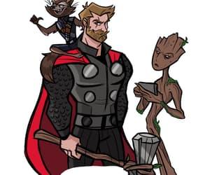 Avengers, Marvel, and rocket image
