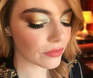 emma stone, fashion, and makeup image