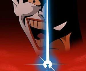 batman, joker, and arlequina image