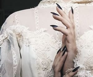 dark, gothic, and nails image