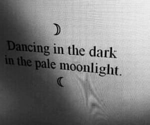 dark, grunge, and moonlight image