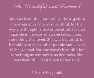 beautiful, f. scott fitzgerald, and literature image