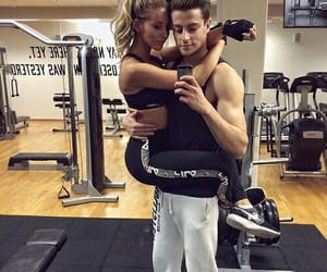 couple, love, and fitness image