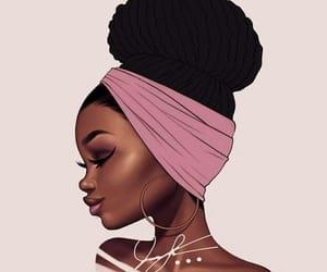 drawing, fashion, and blackgirl image