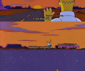 sad, homer, and tumblr image