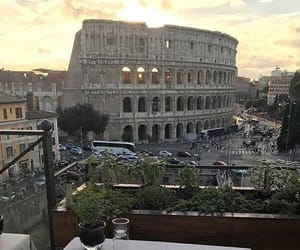 cities, colosseum, and inspo image