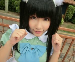 japan, japanese, and maid image