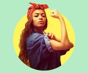 beyoncé, feminism, and feminist image