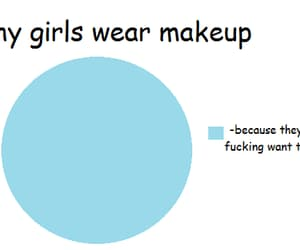 makeup, girl, and funny image