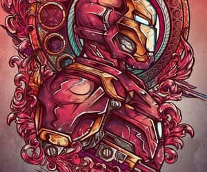 iron man, wallpaper, and Marvel image