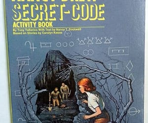 book, investigation, and nancy drew image