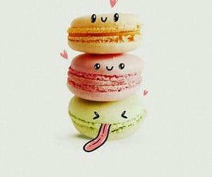 adorable, rainbow, and smiles image