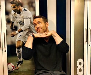 cristiano ronaldo, real madrid, and ryan reynolds image