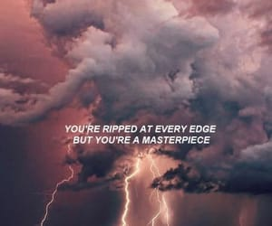 cloud, pink, and quote image