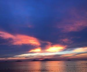beach, beautiful, and sunrise image