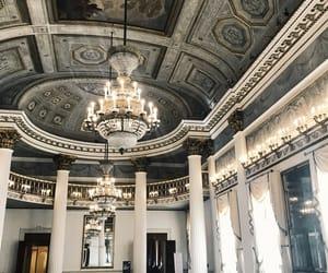 beautiful, hall, and interior image