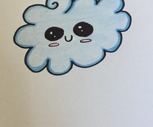 cloud, cute, and doodle image