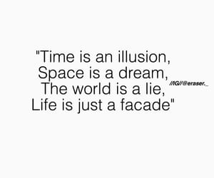 broke, facade, and lie image
