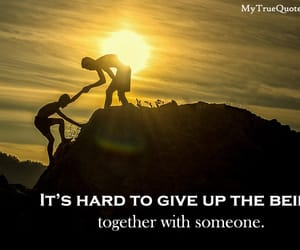 inspirational quotes, stay strong quotes, and never quit image