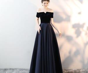 evening dresses, suede, and formal dresses image