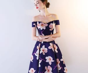 backless, printing, and formal dresses image