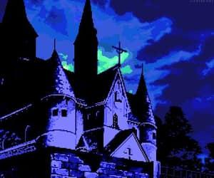 gif, pixel, and Halloween image